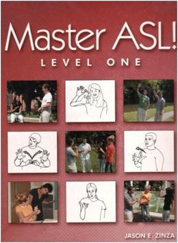 Master ASL - Level One (with DVD) PKG 9781881133209