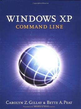 Windows XP: Command Line, by Gillay BK w/DISK 9781887902823