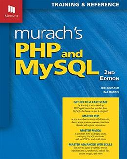 Murachs PHP and MySQL, by Murach, 2nd Edition 9781890774790
