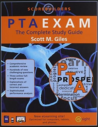 PTAEXAM, by Giles, Complete Study Guide 9781890989354