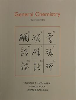 General Chemistry, by McQuarrie 4 9781891389870