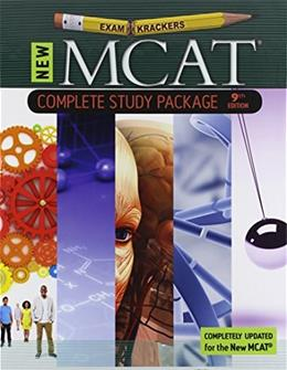 9th Edition Examkrackers MCAT Complete Study Package 9 PKG 9781893858701