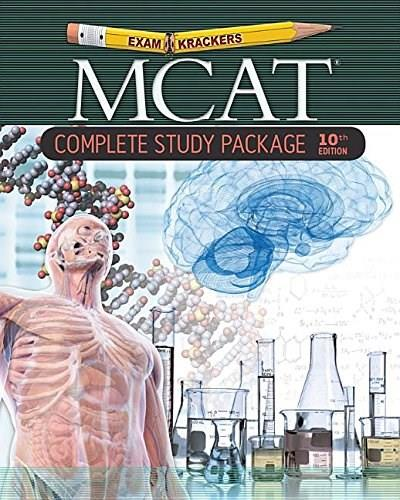 Examkrackers MCAT Complete Study Package, by Orsay,10th Edition, 7 BOOK SET 10 PKG 9781893858831