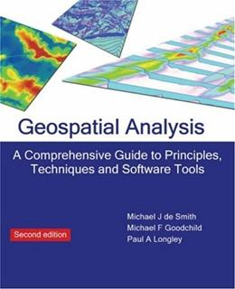 Geospatial Analysis, by De Smith, 2nd Edition 9781906221980