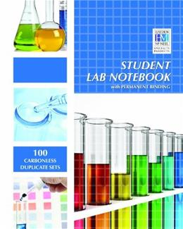 Student Lab Notebook: 100 Top Bound Carbonless Duplicate Sets 2013 9781930882003