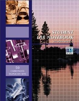 Chemistry Lab Notebook: 50 Carbonless Duplicate Sets, by Hayden-McNeil 9781930882232