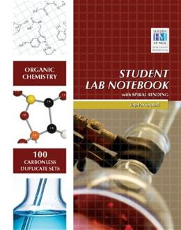 Organic Chemistry Student Lab Notebook, by Hayden-McNeil 9781930882461