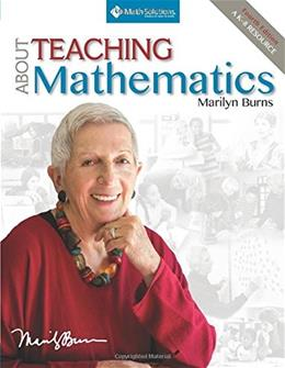 About Teaching Mathematics: A K-8 Resource, by Burns, 4th Edition 9781935099321