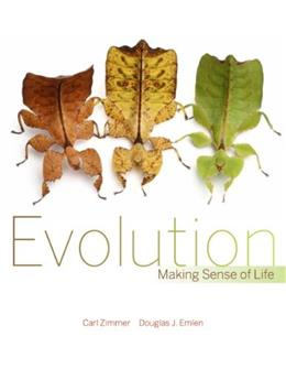 Evolution: Making Sense of Life, by Zimmer 9781936221172
