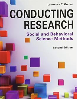 Conducting Research: Social and Behavioral Science Methods 2 PKG 9781936523191