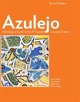Azulejo, by Colbert, 2nd SPANISH Edition 9781938026232