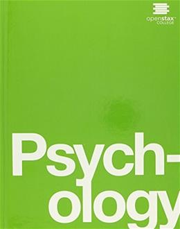 OpenStax: Psychology, by Spielman 9781938168352