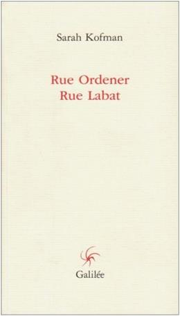 Rue Ordener, Rue Labat Ned, by Kofman, French Edition 9782718606835