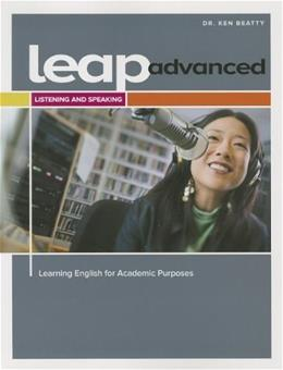 LEAP Advanced Listening and Speaking Student Book, by Beatty, Worktext 9782761352291