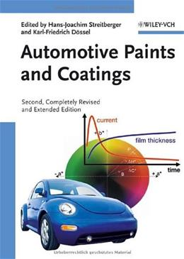 Automotive Paints and Coatings, by Steitberger, 2nd Edition 9783527309719