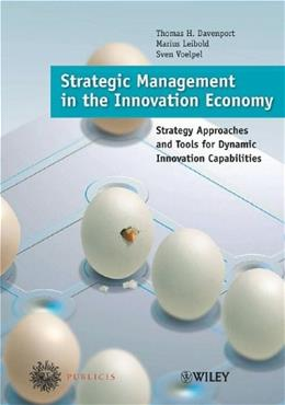 Strategic Management in the Innovation Economy, by Davenport 9783895782633