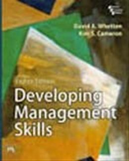 Developing Management Skills, by Whetten, 8th EASTERN ECONOMY EDITION 9788120342101