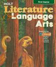 Holt Literature and Language Arts, by Holt Rinehart Winston, CALIFORNIA EDITION, Grade 7, 1st Course