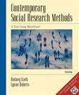 Contemporary Social Research Methods: A Text Using MicroCase, by Stark, 3rd Edition, 2 BOOK SET