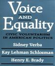 Voice and Equality: Civic Voluntarism in American Politics, by Verba