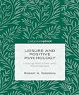 Leisure and Positive Psychology: Linking Activities with Positiveness