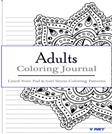 Adult Coloring Journal : Lined Note Pad and Anti Stress Coloring Patterns: Stress Relief Coloring Book and Relaxation (Journal Coloring Book) (Volume 6)