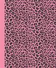 Journal: Animal Print (Pink Leopard) 6x9 - DOT JOURNAL - Journal with dot grid paper - dotted pages with light grey dots (Animal Print Dot Journal Series)