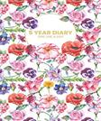 5 Year Diary One Line A Day: 5 Years Of Memories, Blank Date No Month, 6 x 9, 365 Lined Pages