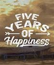 Five Years Of Happiness: 5 Years Of Memories, Blank Date No Month, 6 x 9, 365 Lined Pages