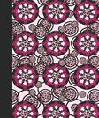 Sketch Journal: Animal Print Mandala (Rose and Pink) 8x10 - Pages are lightly lined with EXTRA WIDE RIGHT MARGINS for sketching, drawing, and writing