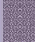 Journal: Damask (Purple) 6x9 - LINED JOURNAL - Journal with lined pages - (Diary, Notebook) (Patterns & Designs Lined Journal Series)